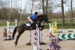 Tinka jumping at Felbridge