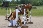 Lily jumps really well at Felbridge