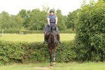 Emma schooling at Lodge Farm