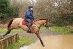 Lily schooling with Martin at Munstead