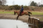 Lily practising at Tweseldown